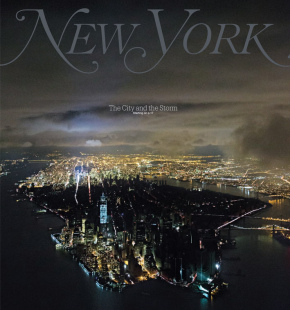 La couverture du New York Magazine après le passage de l'ouragan Sandy